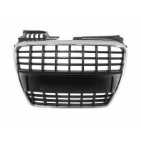 Хром/црна решетка без Амблем за Audi A4 S-line/S4 2004-2007