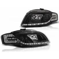 Тунинг фарови с LED светла за Audi A4 B7 11.2004-03.2008 седан/караван/кабрио