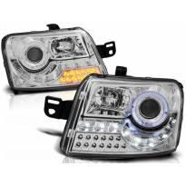 Тунинг фарови с LED светла за Fiat PANDA 2003-